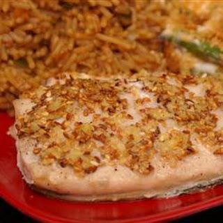 Sesame Seed Encrusted Mahi Mahi