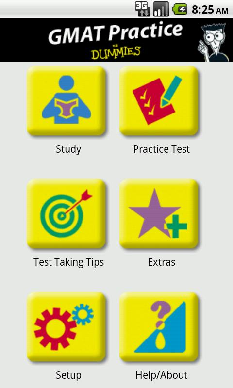GMAT Practice For Dummies - screenshot