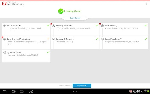 Mobile Security & Antivirus Screenshot 8