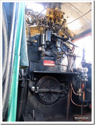 Firebox and boiler of Ab778.