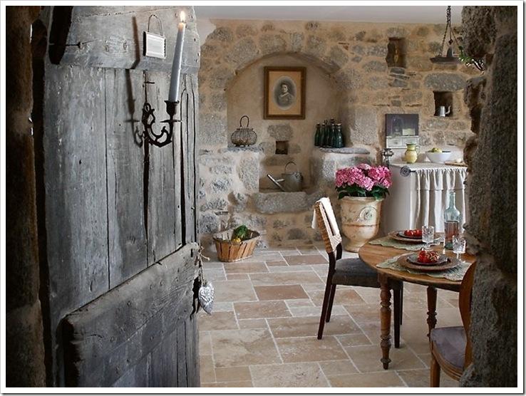 di me, perchè una bella casuccia nella campagna francese, di ...