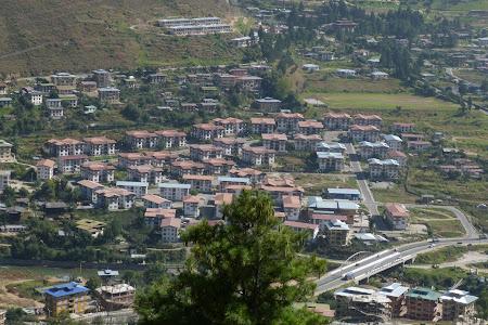 Thimphu, capitala Bhutan