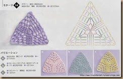 crochet triangle thirty