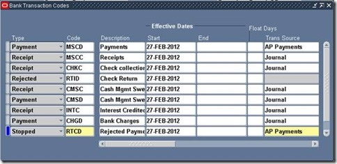 Steps to Implement Bank Statement Open Interface ~ Oracle Apps