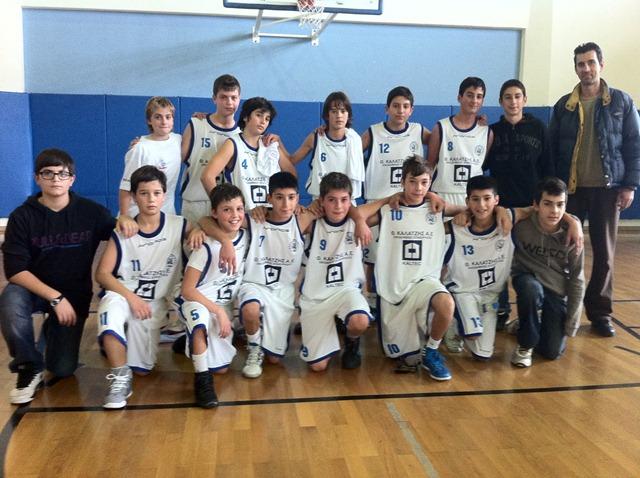 Στη τελική φάση του τουρνουά μίνι μπάσκετ αγοριών (Π. Βαρζακιάν) που  συνδιοργανώνουν ο ΔΟΠΑΦΜΑΗ και η ΕΚΑΣΚ 984d80f57e1