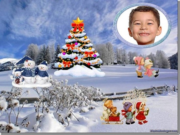 Crea postal de Navidad con tu foto
