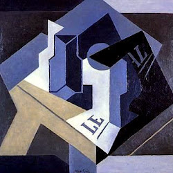 Juan Gris (1920): Frutero y periódico