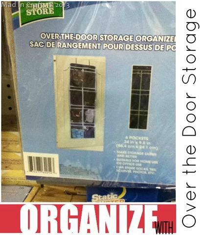 Dollar Store Door Storage Hanger