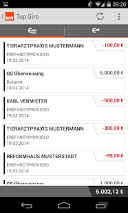 Wüstenrot Mobile Banking- screenshot thumbnail