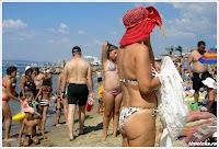 Пляж в Святом Власе. Болгария. 2013. www.timeteka.ru