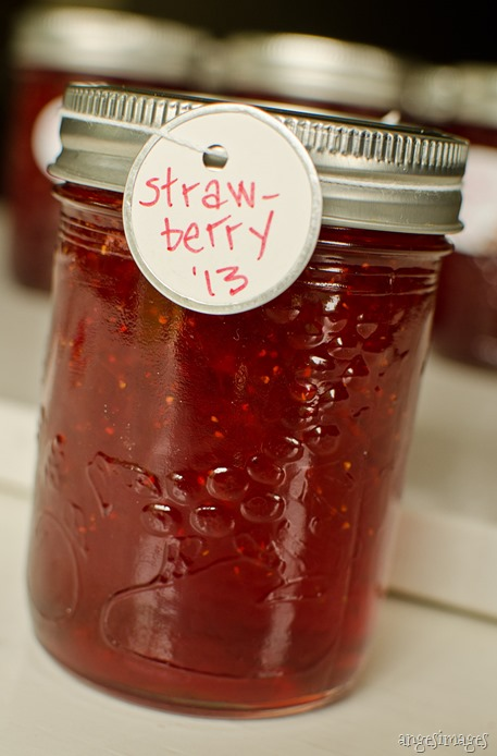 How To Make Strawberry Jam | personallyandrea.com
