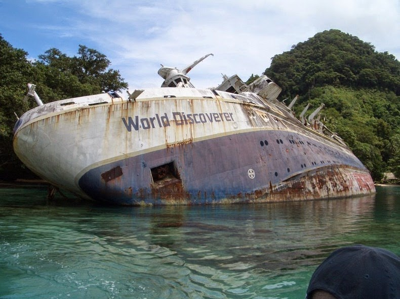 12 Famous Shipwrecks That You Can Still Visit Amusing Planet