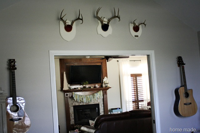 Office Progress Antlers{home.made