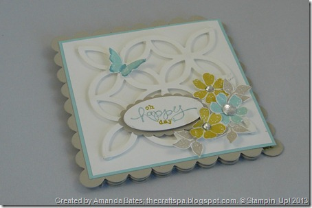 Blooming Marvellous, The Craft Spa, SAB 2013, Stampin Up, SU   (1)