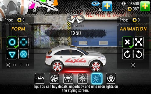 Drag Racing 4x4- screenshot thumbnail