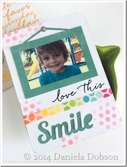 Smile card by Daniela Dobson
