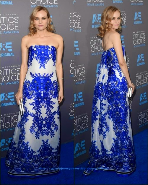 Diane Kruger attends the 20th annual Critics Choice Movie Awards