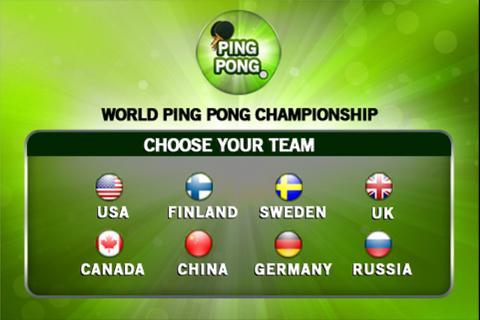 World Ping Pong Championship
