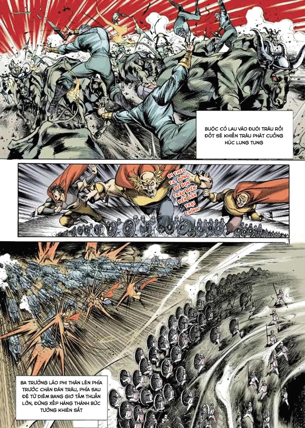Tần Vương Doanh Chính chapter 9 trang 4
