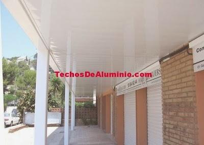 Techos aluminio Getafe