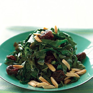 Sauteed Collard Greens with Raisins