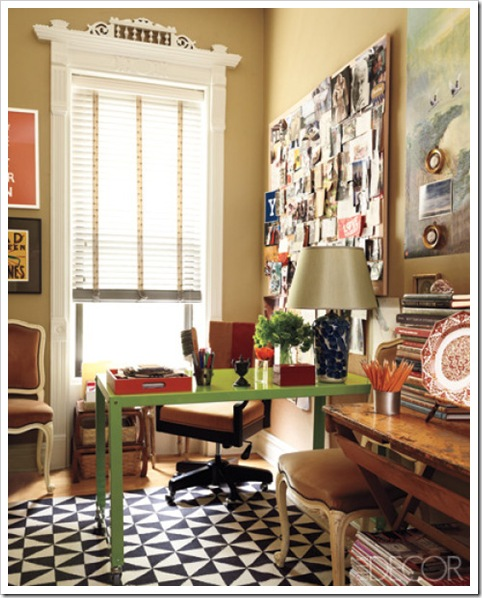 Blue 11 Interiors: Home Offices To Make You (Almost) Love