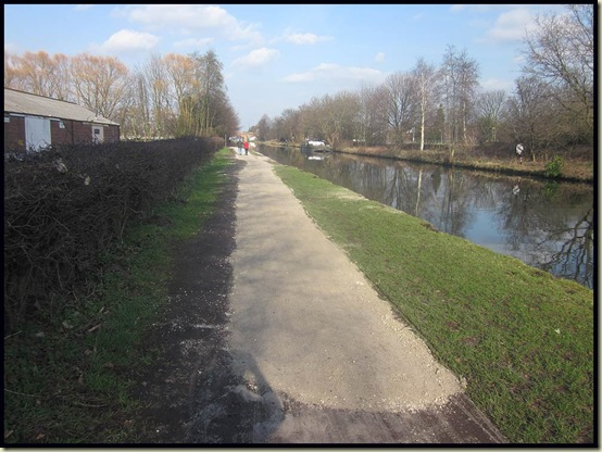 The bridgewater Canal at Sale Rowing Club