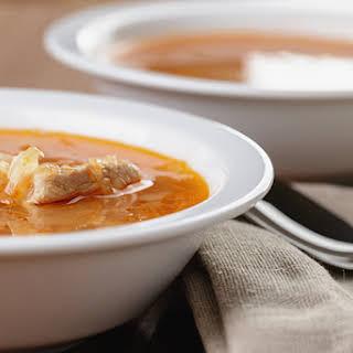 Cabbage Turkey Soup.