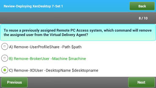 【免費教育App】Citrix CCP-AD XenDesktop7 Prep-APP點子