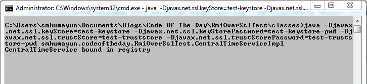 Code Of The Day: Java Remote Method Invocation (RMI) with