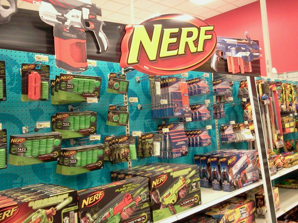 Target Toy Aisle! Nerf Firevision, Elite expanded, pyragon spotted ...