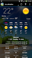Screenshot of Weather Now
