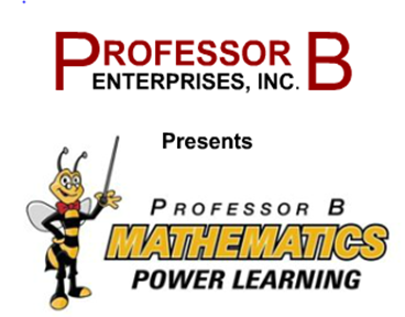 Professor B Opening Screen