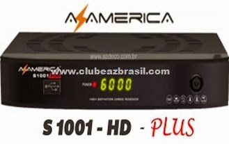 AZAMERICA S1001 - HD PLUS 19.01.2013