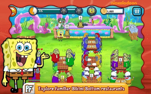 SpongeBob Diner Dash- screenshot thumbnail