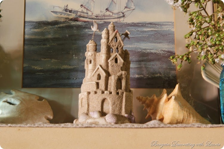 Beach Themed Mantel 2