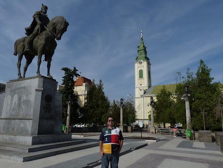Statuia lui Mihai Viteazu Oradea