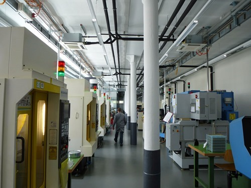 Machining-Room