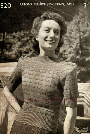 Lavender & Twill : ~ 1940s style knitting patterns ~ free