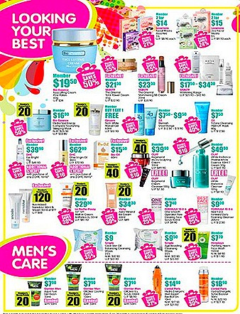 Watsons members sale august
