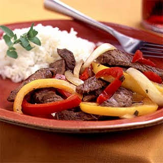 Fiesta Pepper Steak.