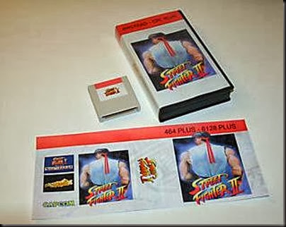street fighter 2 amstrad cpc plus edition