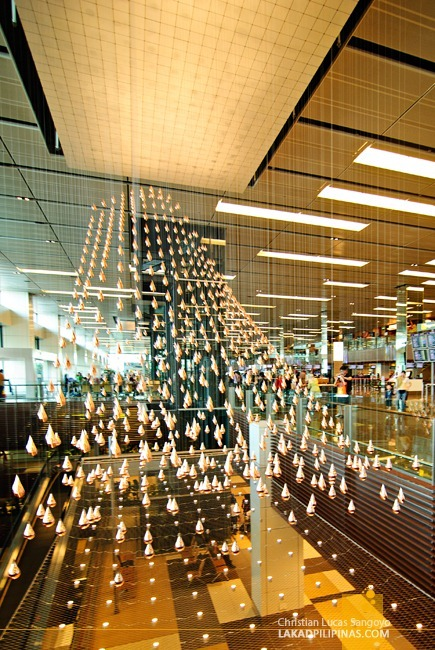 Dancing Tears at Singapore's Changi International Airport