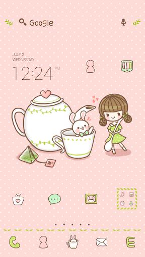 Tea time dodol luancher theme