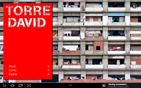 Torre David - Exhibition's app- screenshot thumbnail