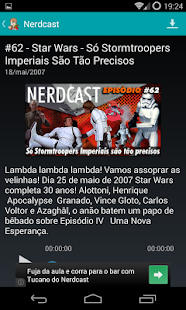 玩免費娛樂APP|下載Nerdcast Player app不用錢|硬是要APP