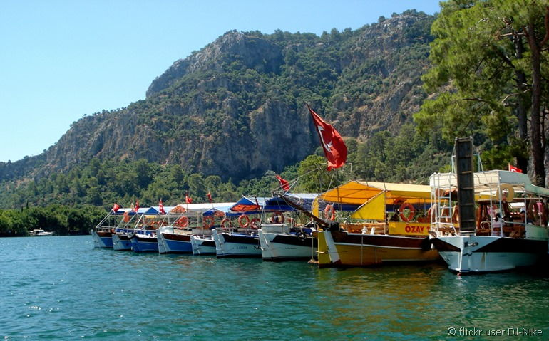 Boats Dalaman coast flickr user DJ-Nike