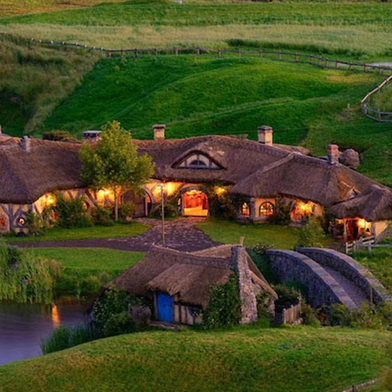 Hobbit Bar in New Zealand