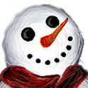 Smiling Snowman Wallpaper Free