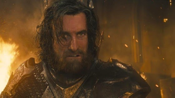 Sharlto Copley as King Stefan in Maleficent
